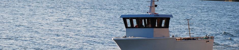 Provtur med nya dykbåten